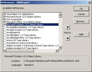 Sending Email Using Outlook through Excel VBA Macro