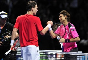 Ferrer and Berdych